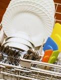 Máquina de lavar louça da cozinha Fotos de Stock