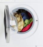 Máquina de lavar moderna Fotografia de Stock Royalty Free