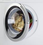 Máquina de lavar moderna Fotos de Stock