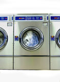 Máquina de lavar no Meados de-Ciclo Foto de Stock Royalty Free