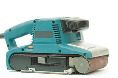 Máquina de lixamento elétrica Fotografia de Stock Royalty Free