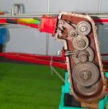 Máquina de los engranajes Fotografía de archivo