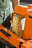 Máquina de madera Imágenes de archivo libres de regalías