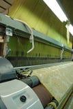 Máquina de materia textil Foto de archivo libre de regalías