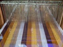 Máquina de materia textil Fotos de archivo