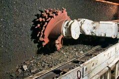 Máquina de mineração Fotos de Stock