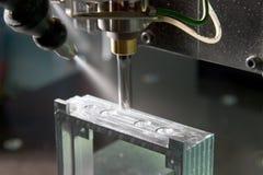 Máquina de molde da fábrica Fotos de Stock Royalty Free