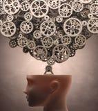 Máquina de pensamiento imagenes de archivo