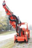 Máquina de perfuração da mina Imagem de Stock Royalty Free