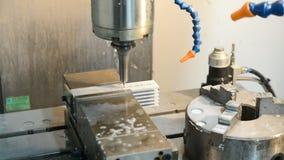 Máquina de perfuração da precisão video estoque