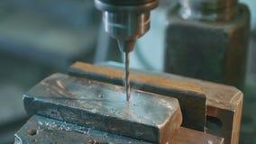 Máquina de perfuração do metal filme