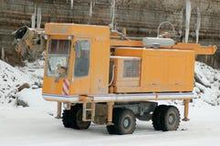 Máquina de perfuração no poço aberto Fotos de Stock