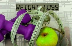A máquina de peso Fotografia de Stock