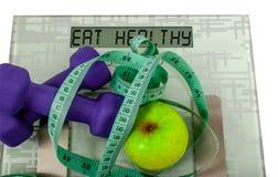 A máquina de peso Fotos de Stock