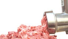 Máquina de picar carne foto de archivo