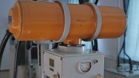 Máquina de radiografía del vintage Imagen de archivo libre de regalías