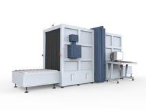 Máquina de raios X da carga  Imagem de Stock