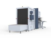 Máquina de raios X da carga  Fotos de Stock