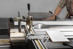Máquina de sawing imagens de stock royalty free