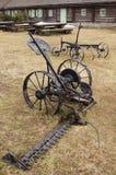 Máquina de siega antigua Fotos de archivo