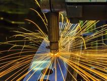 Máquina de soldadura do ponto Fotografia de Stock