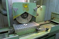 Máquina de superfície do moedor Fotografia de Stock Royalty Free