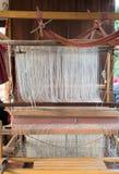 Máquina de tecelagem Imagem de Stock