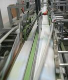 Máquina de trabajo de la impresión Foto de archivo