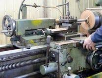 Máquina de trabajo del metal Foto de archivo libre de regalías