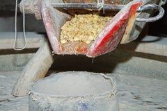 Máquina de trituração Fotografia de Stock