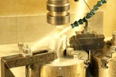Máquina de trituração do CNC Imagens de Stock