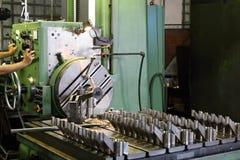 Máquina de trituração horizontal Imagens de Stock Royalty Free