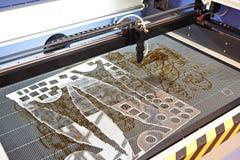 Máquina de trituração para cortar o plástico foto de stock
