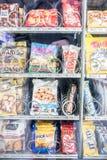 Máquina de venda automática alemão do petisco Fotografia de Stock