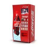 Máquina de venda automática na ilustração 3D branca ilustração royalty free