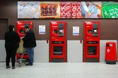 Máquina de venda automática reversa fotografia de stock