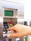 Máquina de vending do bilhete Foto de Stock Royalty Free