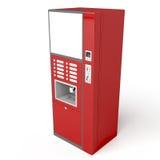 Máquina de vending vermelha ilustração royalty free