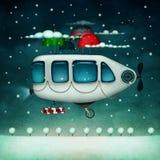Máquina de vuelo stock de ilustración