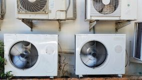 Máquina del acondicionador de aire imágenes de archivo libres de regalías
