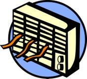 Máquina del acondicionador de aire Fotografía de archivo libre de regalías