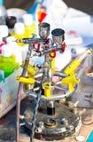 Máquina del aerógrafo. Fotos de archivo libres de regalías