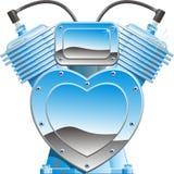 Máquina del amor stock de ilustración