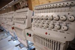 Máquina del bordado Fotografía de archivo libre de regalías