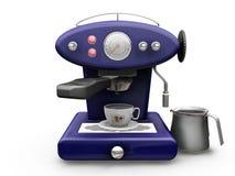 Máquina del café ilustración del vector