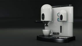 Máquina del café Fotografía de archivo