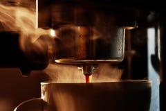 Máquina del café Fotografía de archivo libre de regalías