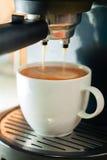 Máquina del café Fotos de archivo