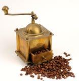 Máquina del café de la antigüedad Imágenes de archivo libres de regalías