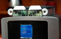 Máquina del café express Fotografía de archivo libre de regalías